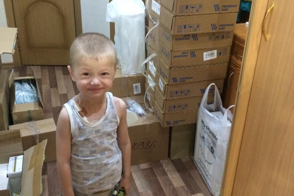 Наша посылка преодолела 2800 км из Москвы в Новосибирск и доставлена Артёму!