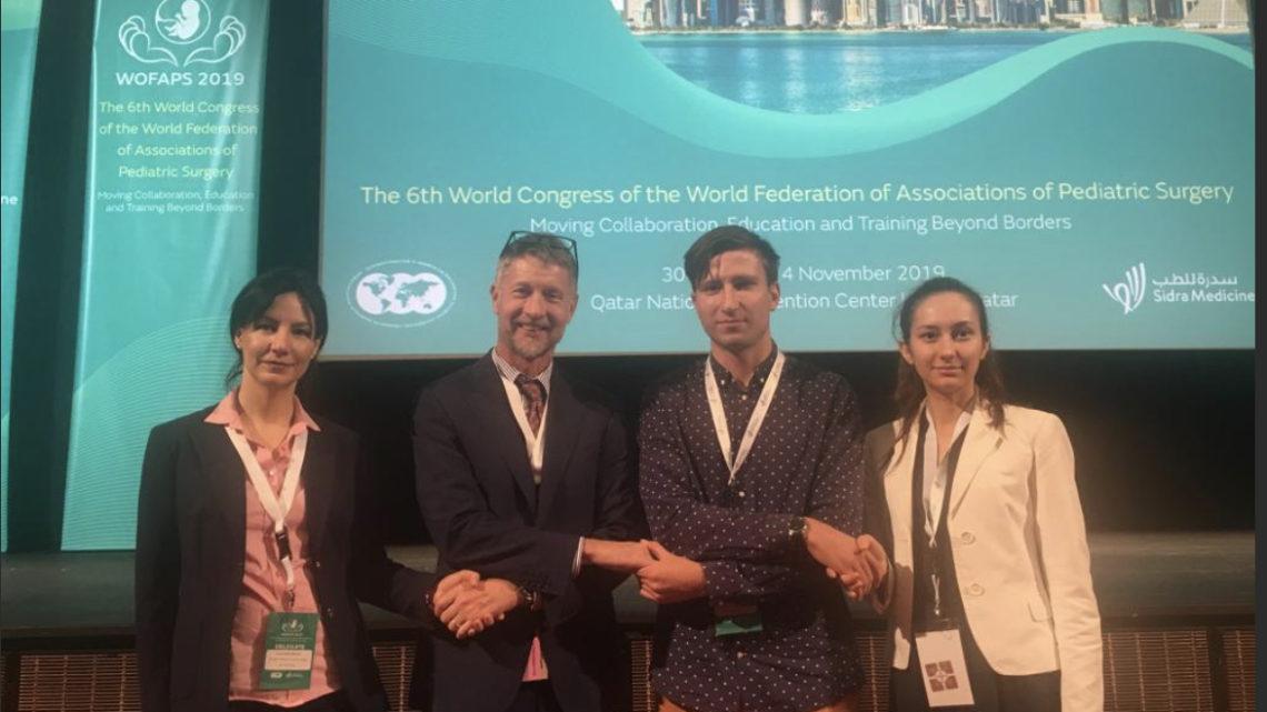 С 1 по 3 ноября в столице Катара Дохе проходит 6-й международный конгресс всемирной федерации ассоциаций детских хирургов WOFAPS 2019.