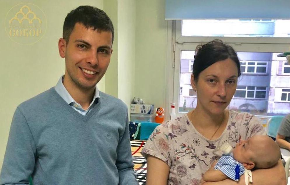 Сегодня руководитель МБОО «Всенародный Собор» Сергей Асанов навестил Рому Метелёва в РДКБ.