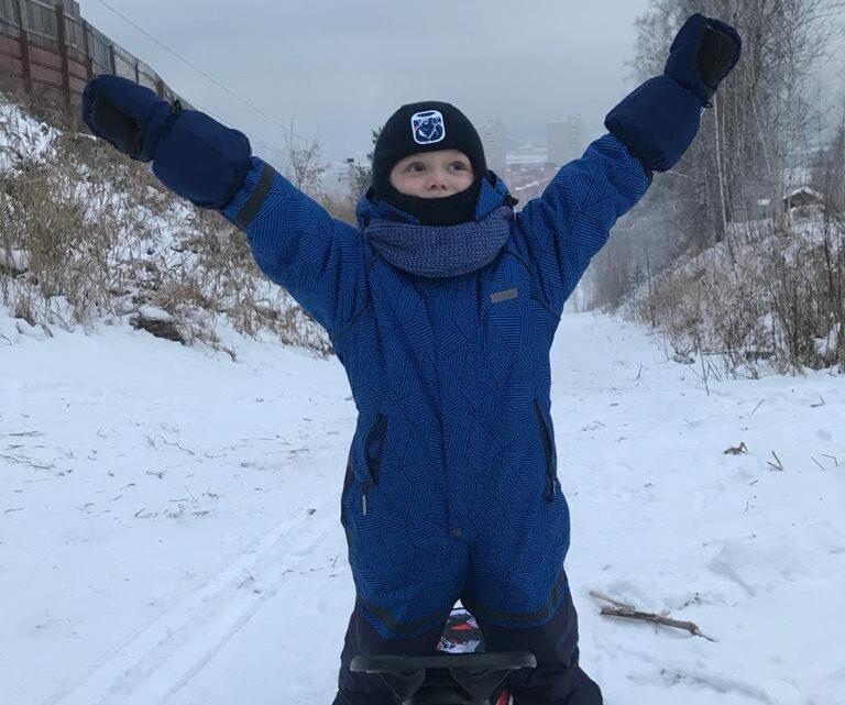 Артем Куц передаёт всем огромный привет из морозного Новосибирска!